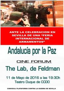 Cine_Forum_ante_la_Feria_Armamentos_11_ mayo
