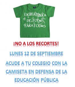 no-a-los-recortes-camiseta-verde-12septiembre