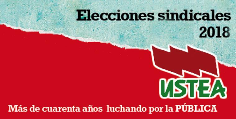 Elecciones Sindicales 2018. El 4 de diciembre puedes decidir la Escuela que Queremos