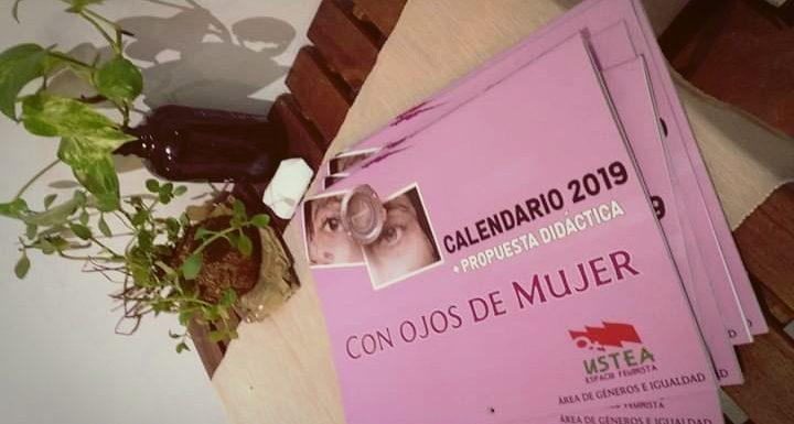 Calendario Espacio Feminista 2019. Con ojos de mujer.