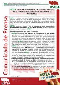 NotaPrensa_Instrucciones_ModificacionHorarioWD