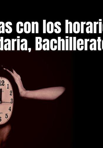 horarios secundaria